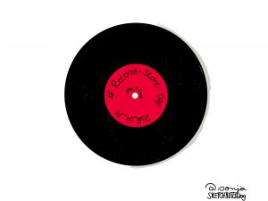 RecordStoreDay Sketchnote